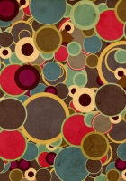 circles, background, surface