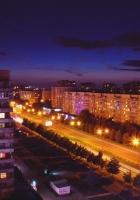 city??, top view, city lights