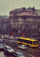 city, transport, sky
