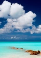 clouds, lagoon, gulf