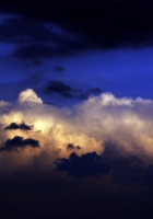 clouds, layers, colors
