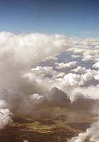clouds, plumose, volume