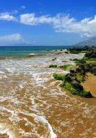coast, beach, sea