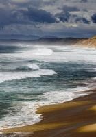 coast, sea, sand