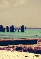 coast, stakes, reservoir