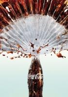 coca-cola, drink, spray