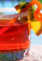 cocktail, sugar, kiwi