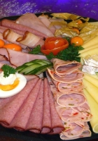 cold cuts, cheese, meat