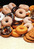 cookies, donuts, batch