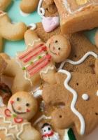 cookies, figures, patterns