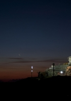 cosmodrome, launch pad, night
