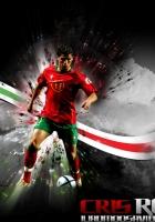 cristiano ronaldo, ball, footballer
