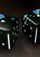 cube, dice, game