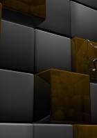 cube, square, robot