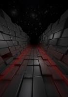 cubes, flight, movement