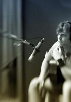 daniel boucher, microphone, headphones