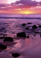 decline, hawaii, evening