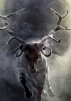 deer, smoke, run