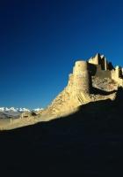 desert, castle, shade