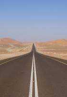 desert, road, marking