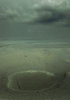 desert, sand, ravine