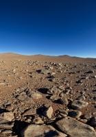 desert, stones, sand