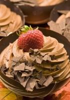 dessert, strawberry, chocolate