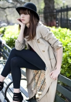 diane birch, girl, brench