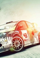 dirt 3, car, light