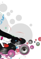dj, record, music