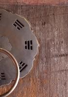 door, handle, metal