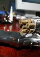 drum, bullet, gun