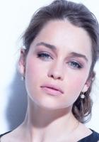emilia clarke, face, brunette
