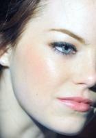 emma stone, blue eyes, eyes