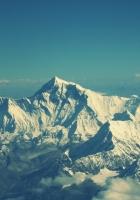 everest, mountain, sky