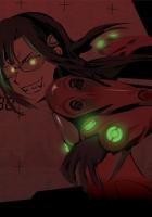 evil, smile, anime