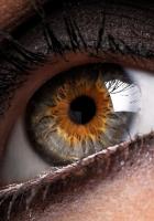eye, pupil, black
