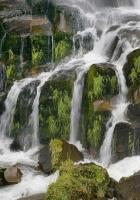 falls, streams, stones