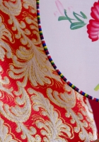 fan, kimono, fabrics