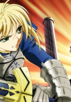 fate stay night, saber, gilgamesh