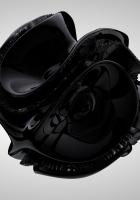 figure, black, spiral
