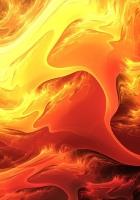 fire, paint, orange