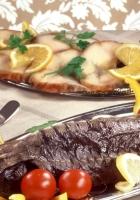 fish, baked, laying