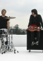 foo fighters, band, microphone