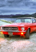 ford, mustang, hdr