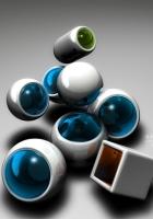 form, balls, plastic