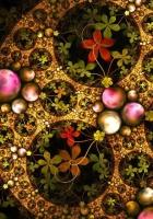 fractal, kaleidoscope, multicolored