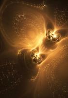 fractal, pattern, glow