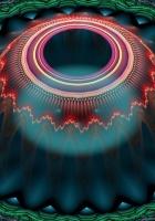 fractal, patterns, ball