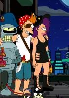 futurama, cartoon, characters